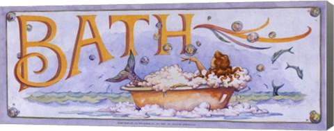 Framed Bath (Mermaid) Print