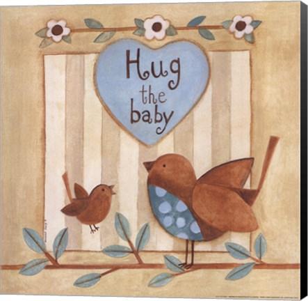 Framed Hug the Baby Print