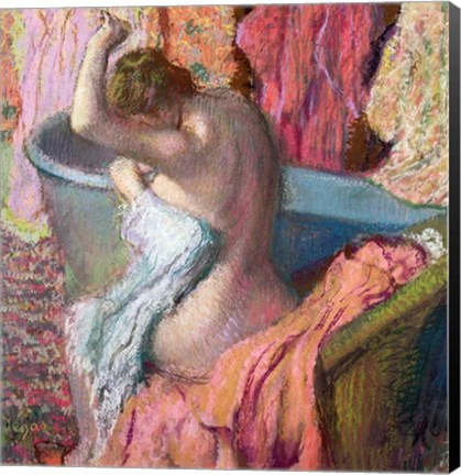 Framed Seated Bather, 1899 Print