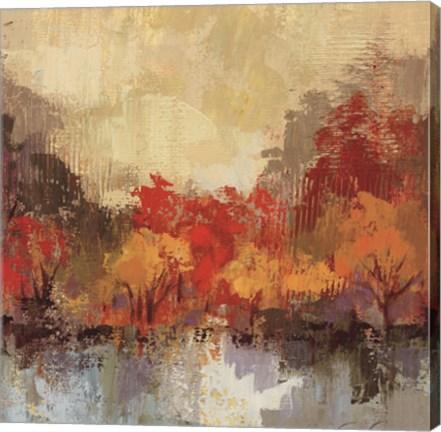 Framed Fall Riverside II Print