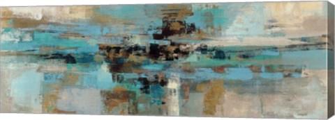 Framed Morning Fjord Print