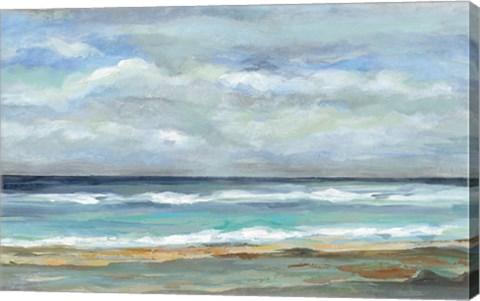 Framed Seashore Print