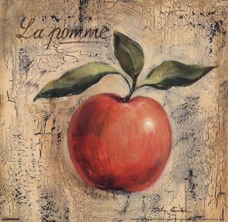 Framed La Pomme Print