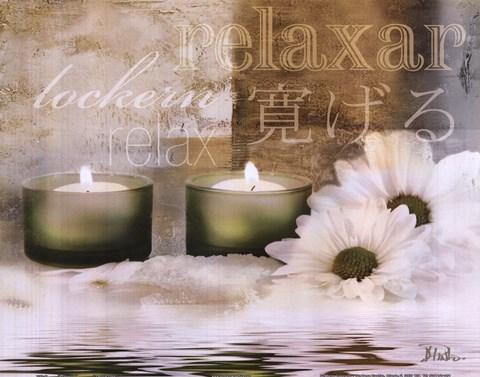 Framed Relaxation I Print
