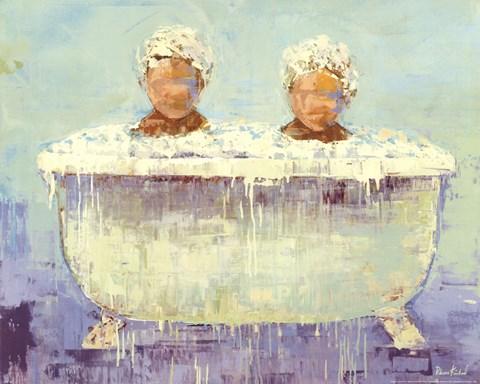 Framed Tub Print