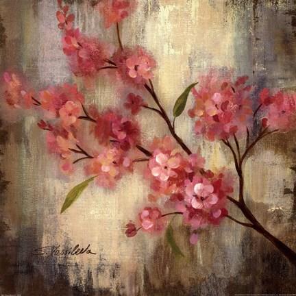 Framed Cherry Blossom II Print
