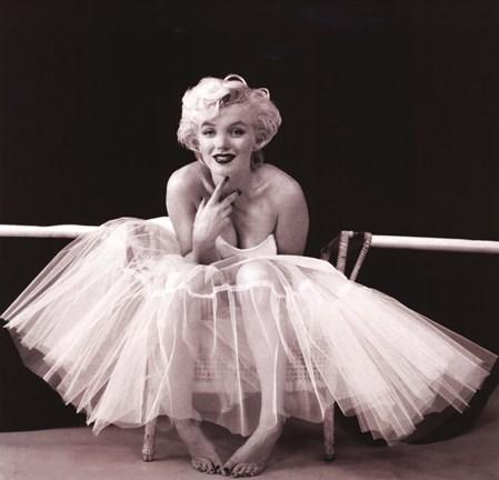 Framed Marilyn Monroe - Ballerina Print