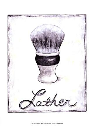 Framed Lather Print