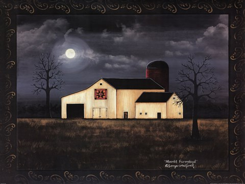 Moonlit Farmstead