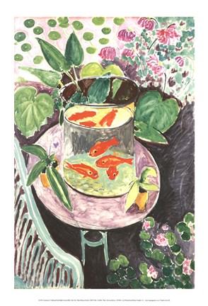 Framed Goldfish Print