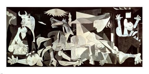 Framed Guernica Print