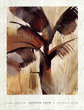 Kamyl Bullaudy - Havana Palm I Size 25x19