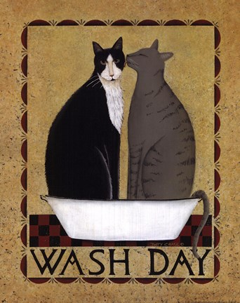 Framed Wash Day Print