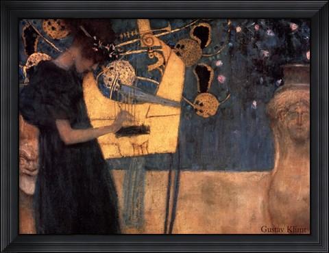 Framed Music, c.1895 Print