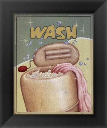 Framed Wash Print