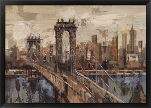 Framed New York View Print
