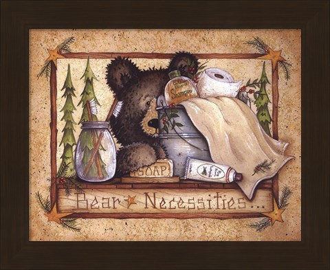 Framed Bear Necessities Print
