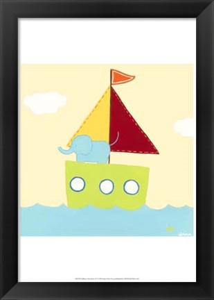 Framed Sailboat Adventure IV Print