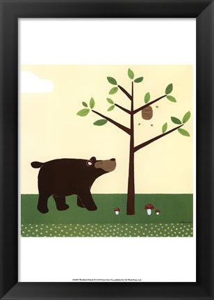 Framed Woodland Friends III Print